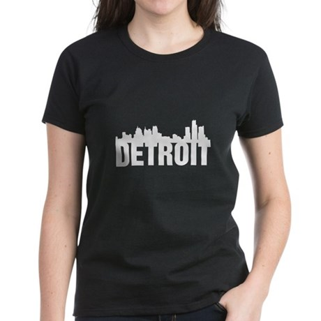Detroit City Women's Dark T-Shirt