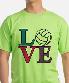 Volleyball LOVE T-Shirt