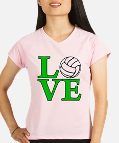 Volleyball LOVE Performance Dry T-Shirt