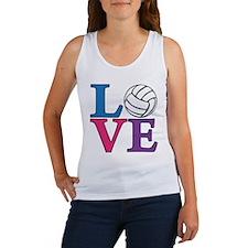 Volleyball LOVE Women's Tank Top