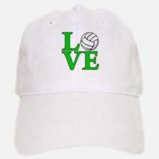 Volleyball LOVE Baseball Baseball Cap