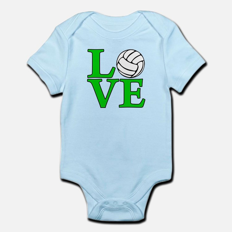 Volleyball LOVE Infant Bodysuit