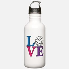 Volleyball LOVE Sports Water Bottle