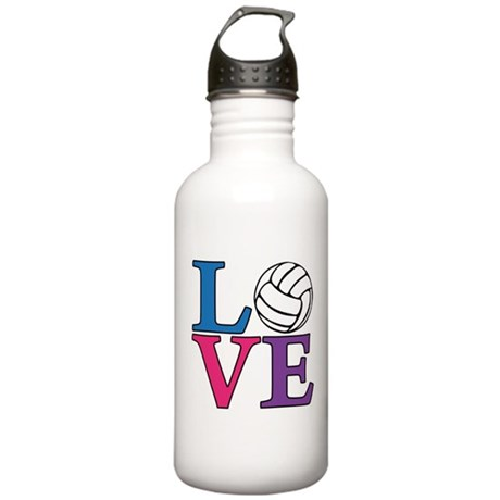 Volleyball LOVE Stainless Water Bottle 1.0L