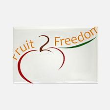 Fruit 2 Freedom Rectangle Magnet