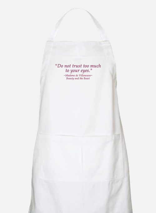 Do Not Trust Quote  BBQ Apron