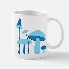 Blue Mushrooms Mug