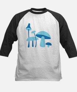 Blue Mushrooms Tee