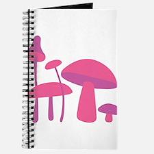 Pink Mushrooms Journal