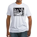 Batten's Snow White  Fitted T-Shirt