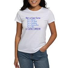 She's a Cane Corso Tee