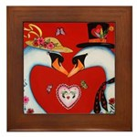 Love at First Flight Framed Tile