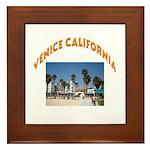 Venice California Framed Tile