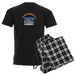 Venice California Men's Dark Pajamas