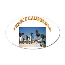 Venice California 22x14 Oval Wall Peel