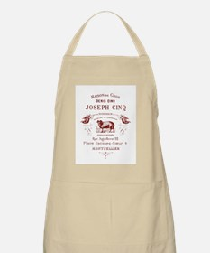 Antique French Ad Apron