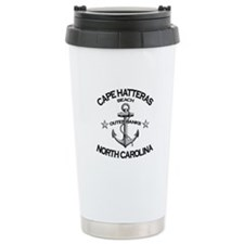 Cape Hatteras Beach, NC Travel Mug