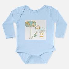 Garden Girl Long Sleeve Infant Bodysuit