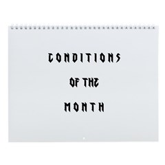 Conditions of the Month