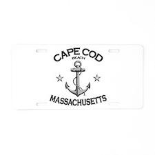 Cape Cod Massachusetts Aluminum License Plate