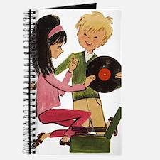 Vinyl Records Love Journal