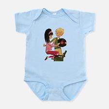 Vinyl Records Love Infant Bodysuit