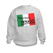 Italian Shipwreck - flag Sweatshirt