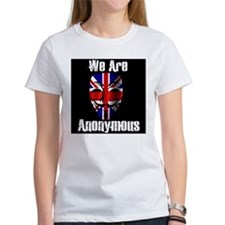 We Are Anonymous UK Tee