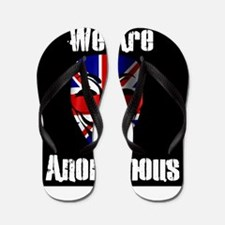 We Are Anonymous UK Flip Flops