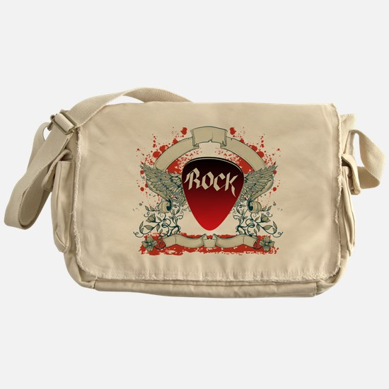Rock Music Messenger Bag