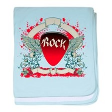 Rock Music baby blanket