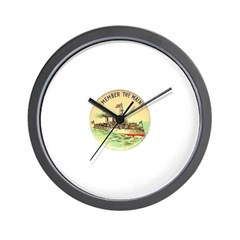 Remember the Maine Wall Clock