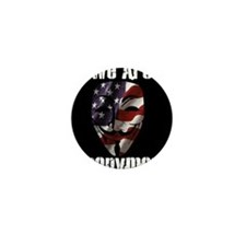 We Are Anonymous USA Mini Button