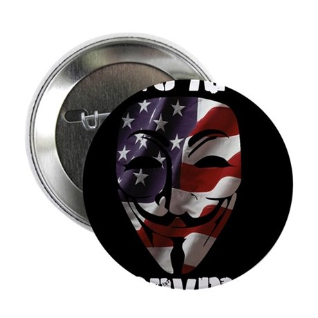"We Are Anonymous USA 2.25"" Button (10 pack)"