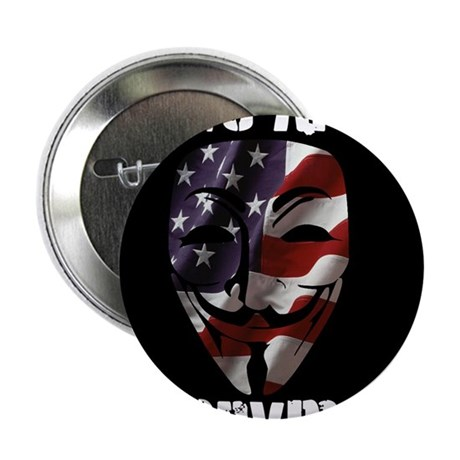 """We Are Anonymous USA 2.25"""" Button"""