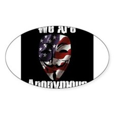 We Are Anonymous USA Decal