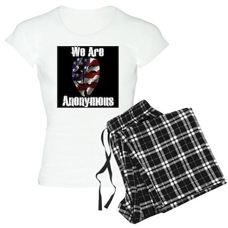 We Are Anonymous USA Women's Light Pajamas
