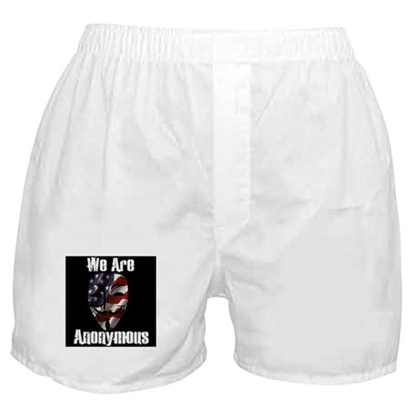 We Are Anonymous USA Boxer Shorts
