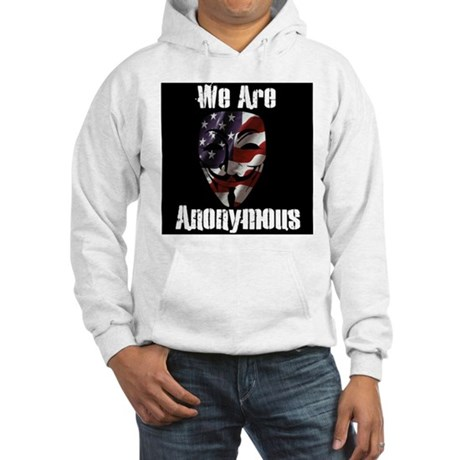 We Are Anonymous USA Hooded Sweatshirt