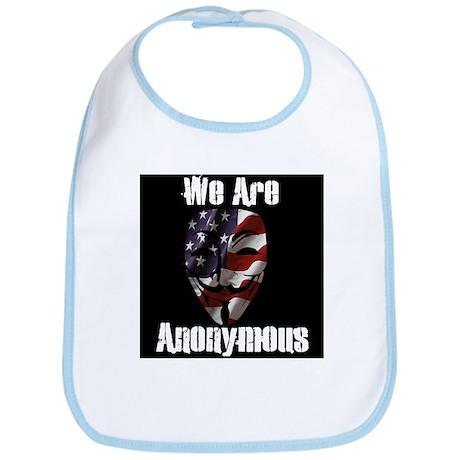 We Are Anonymous USA Bib
