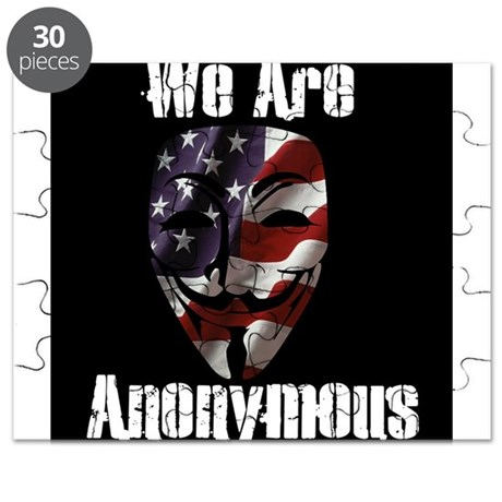We Are Anonymous USA Puzzle