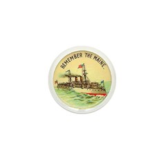 Remember the Maine Mini Button (100 pack)