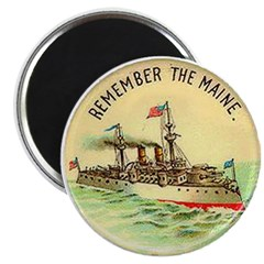 "Remember the Maine 2.25"" Magnet (10 pack)"