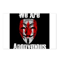 We Are Anonymous Canada Postcards (Package of 8)