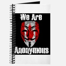 We Are Anonymous Canada Journal