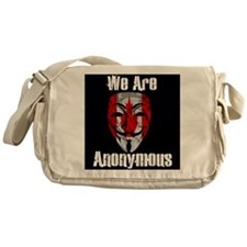 We Are Anonymous Canada Messenger Bag