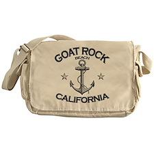 Goat Rock Beach, California Messenger Bag