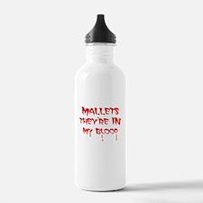 Funny Mallets Water Bottle