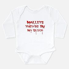 Funny Mallets Long Sleeve Infant Bodysuit