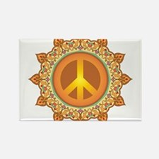 Peace Sign Rectangle Magnet (100 pack)